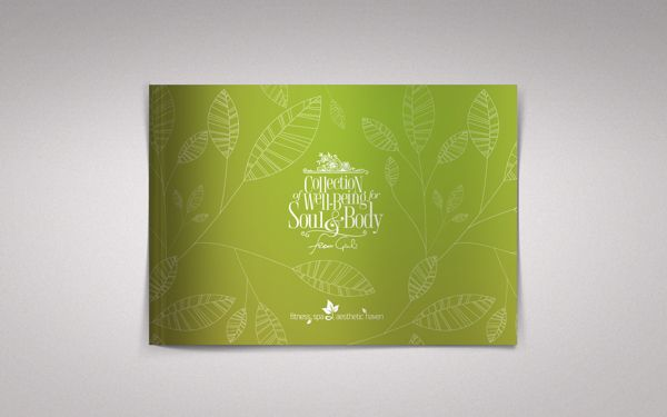The Catalogue of SPA-procedures using Natural cosmetics by Dale Ahmadi, via Behance