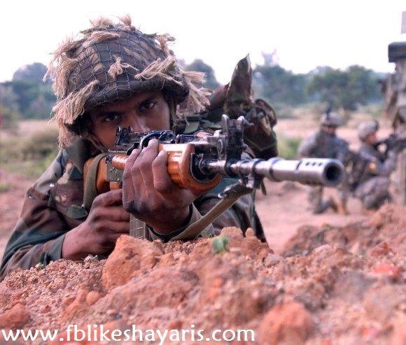 Indian Soldiers 2017 Desh Bhakti Shayari - Indian Army Shayari   Indian Soldiers 2017 Desh Bhakti Shayari - Indian Army Shayari  Chalo Fir Se Khud Ko Jagate Hai  Anusasan Ka Danda Fir Ghumate Hai  Sunhara Rang Hai Gantantra Ka Sahido Ke Lahoo Se  Aise Sahido Ko Ham Sab Sar Jhukate Hai  मर मलक क हफजत ह मर फ़रज ह और मर मलक ह मर जन ह   इस पर करबन ह मर सब कछ  नह इसस बढकर मझक अपन जन ह  Kuch nasha Tirange ki aaan ka hain  Kuch nasha Matrbhumi ki shaan ka hai  Hum lahrayenge har jagah ye Tiranga…