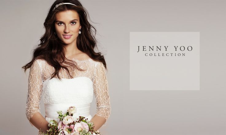 I like this cover-up! Or is it part of the dress? Nordstrom.com - Jenny Yoo Wedding Gowns Lookbook