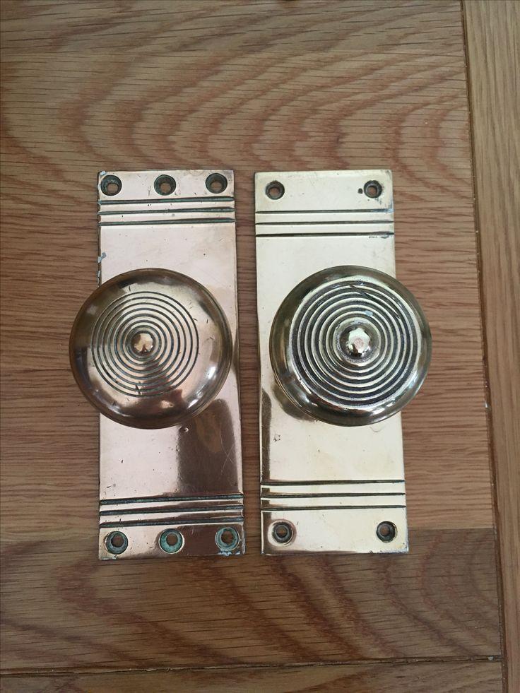 1930 Door Handles & Heritage Brass Charlston Bathroom Set Door Knobs ...
