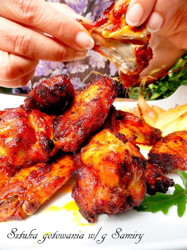 Cryspi chicken wings / Pieczone skrzydełka  - Jak upiec ...