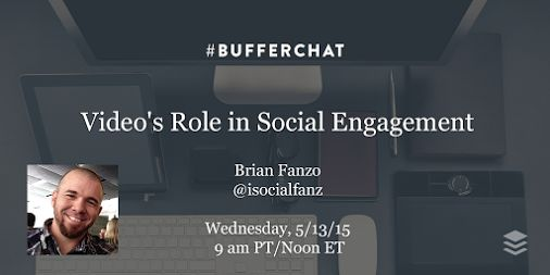 This week we're chatting about the role of video in social engagement. Joined…