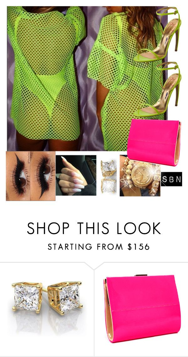 """""""VIP Rehab Las Vegas. Shop LainaRauma.com"""" by styledbynineaux ❤ liked on Polyvore featuring Walter Steiger and Bourne"""