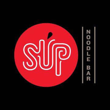 SUP Restaurant Logo by Seth Design Group - Designer: Danielle Davis - #pho #vietnamese #restaurant branding