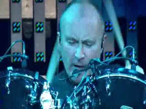 Phill Collins - In the air tonight LIVE. I wish I could have drum sets appear out of thin air. -Z