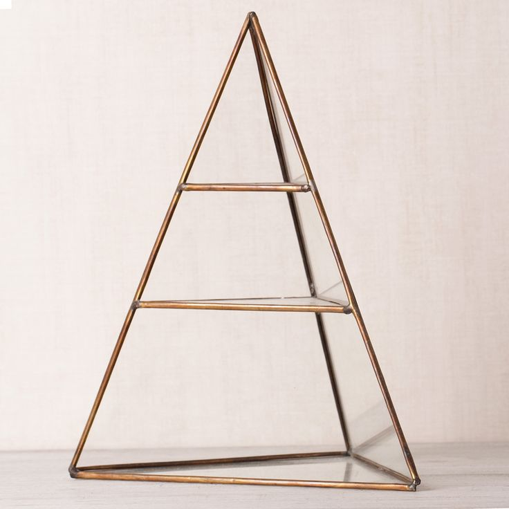 "Opened-triangle shelves suitable for jewelry storage. check www.papiola.com, Indonesian ""Scandinavian inspired"" Home & living destination."