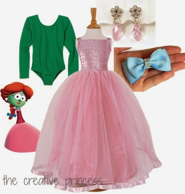 The Creative Princess: Dress as A Veggie with VeggieTales and Family Christian!