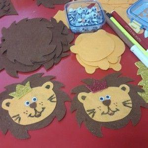 lion craft idea for kids (6)