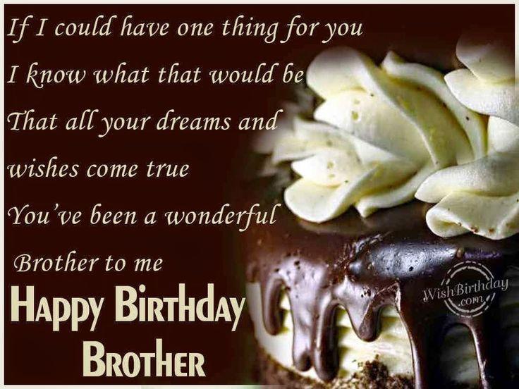 Birthday Wishes Elder Brother « Birthday Wishes