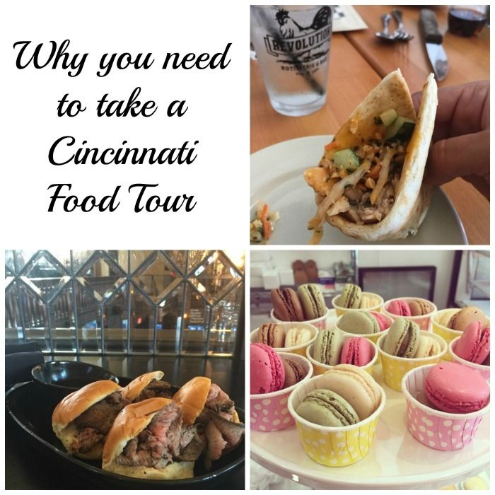 If you are looking for a tour that combines history, architecture, and food, you need to take a Cincinnati Food Tour!