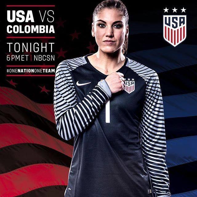 GAMEDAY!! #USA #USAvsCOL #WinTheGroup