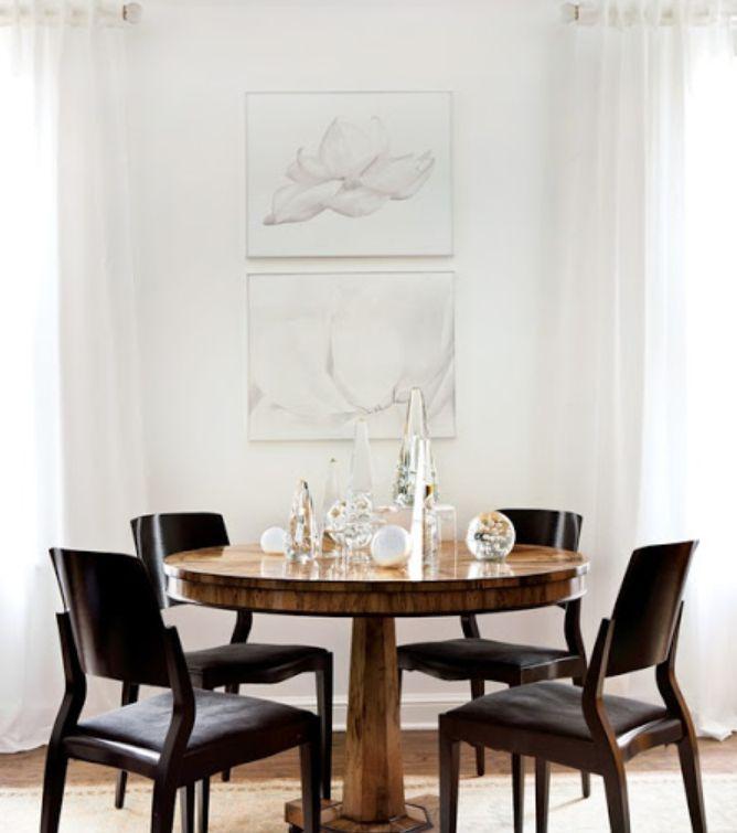 metropolitan style, contrast chairs, white, light, clean, unique,