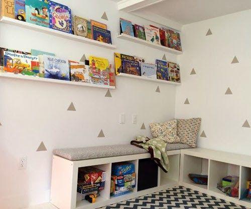 mommo design: IKEA HACKS FOR KIDS - Expedit reading nook