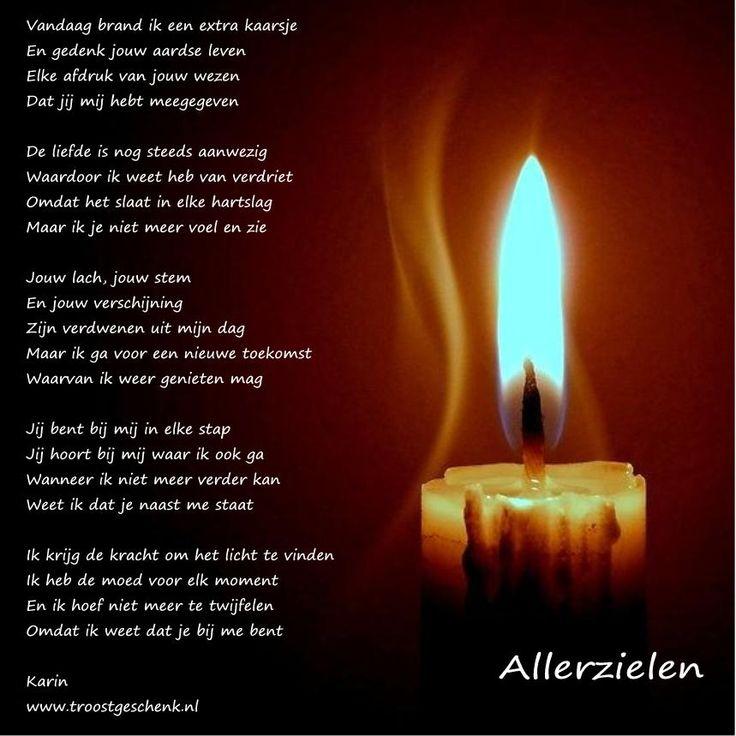 www.troostgeschenk.nl #Allerzielen | Gedichten www ...