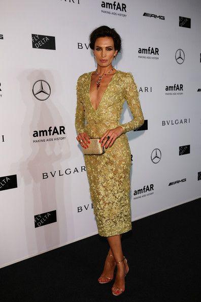 Nieves Alvarez in Elie Saab Couture Spring 2014