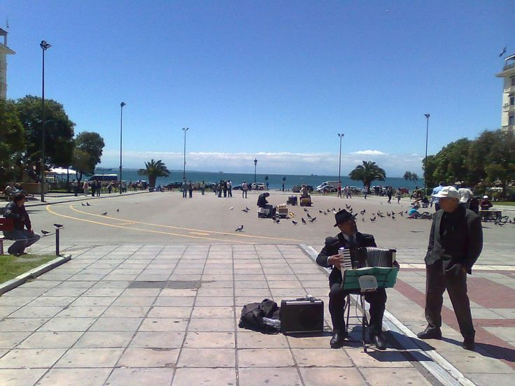 Square Aristotelous.The central and biggest square of Thessaloniki