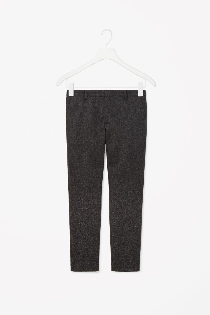 COS   CASUAL WOOL TROUSERS