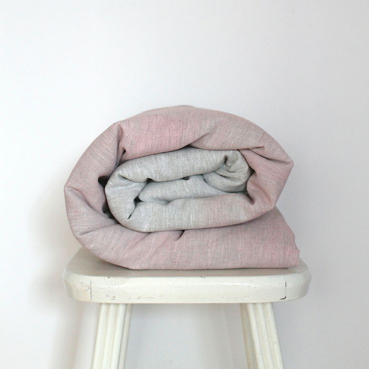 Image of Colour Washed Toddler Doona Cover - Musk