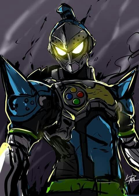 Kamen Rider Brave Quest Gamer Lv.2  By: ゆすき #kamenriderexaid #kamenrider45thanniversary