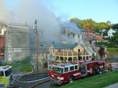 Fire destroys businesses in Harpers Ferry - Journal News | News, sports, jobs, community information for Martinsburg - The Journal