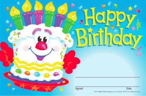 BIRTHDAY AWARD (Pack of 30)- Happy Birthday to YOU YOU YOU !!! - - FREE POST