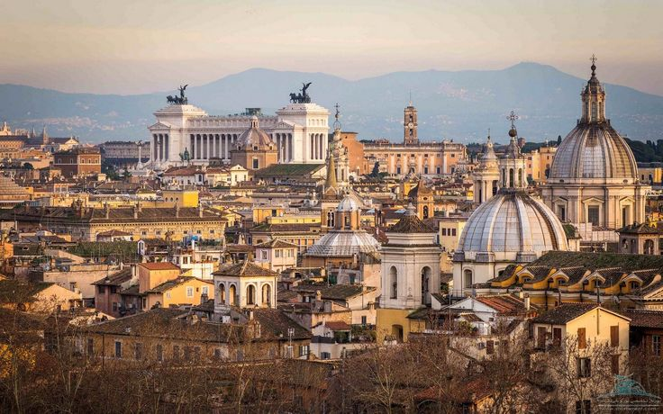 Rome - a city at the crossroads of civilizations, where ancient architecture mixes with modern ideas and fashions...