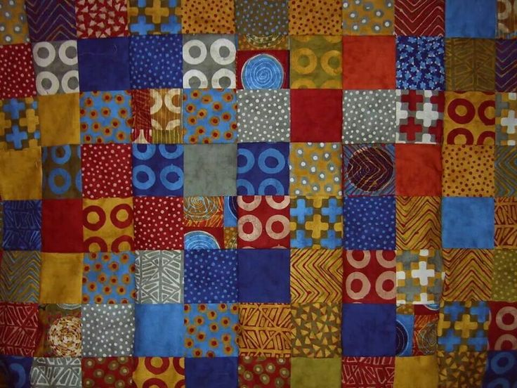 Boho Quilt top ~ by Gypsy Stitches~