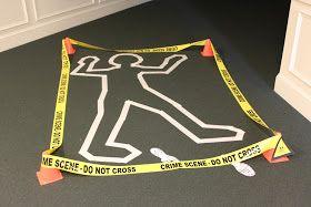 Amandita Designs: CSI: Crime Scene Themed Graduation Party
