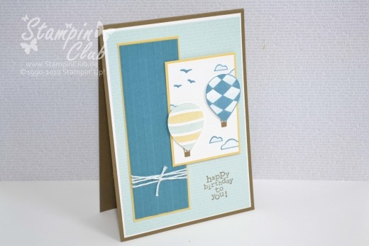 Luftpost or Up, up & away from Stampin' Up! by http://stampinclub.de