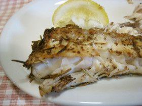 ローズマリー&セロリーシードの魚グリル