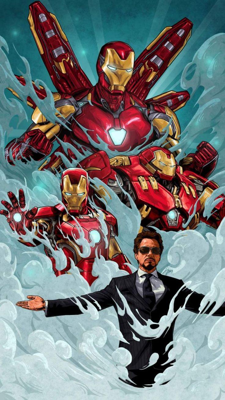 Legend Tony Stark Iron Man iPhone Wallpaper iPhone