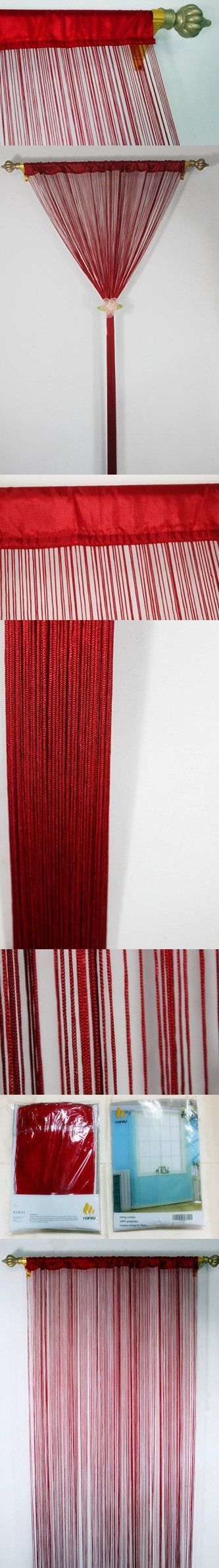 String curtain ideas - String Curtain Ideas Romantic Spaghetti String Curtain For Home Decor And Divider With Creative Stripe