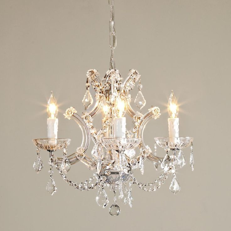 Mini Chandelier For Closet: Round Crystal Chandelier,Lighting