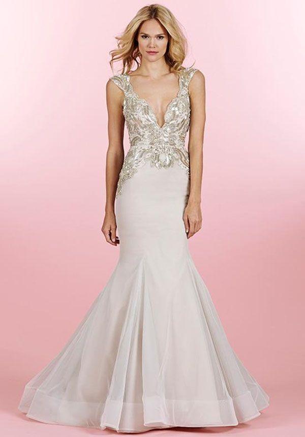 Superb blush bridal separates Evelyn Top u Romella Skirt from BHLDN