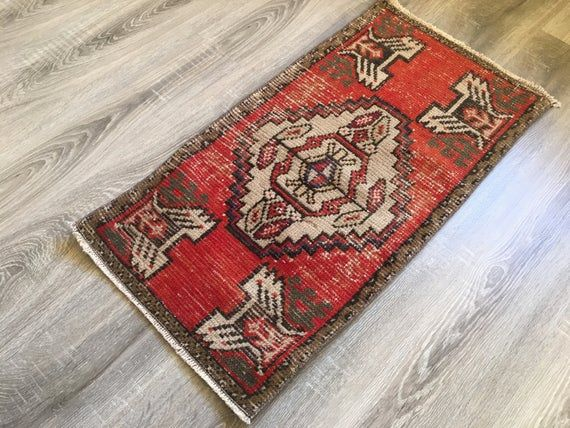 1 5x2 9 Ft 46x89 Small Red Rug
