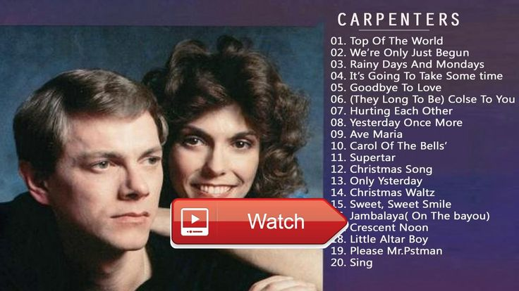 The Best Of The Carpenters Songs The Carpenters Greatest Hits Playlist 17  The Best Of The Carpenters Songs The Carpenters Greatest Hits Playlist 17