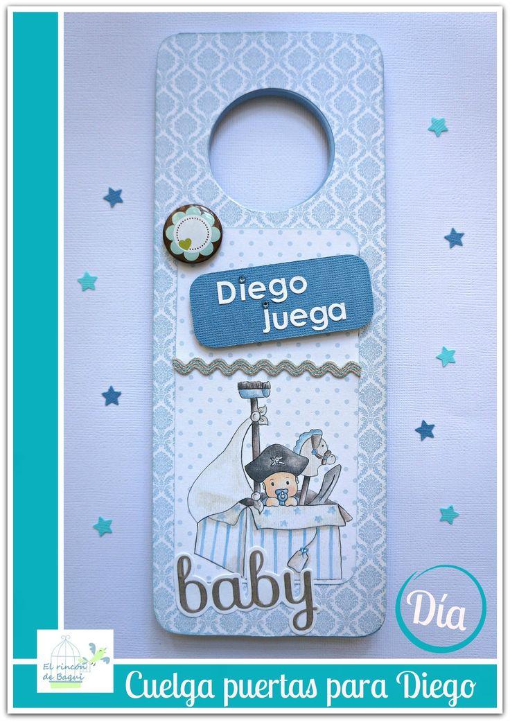 Cuelga puertas_ lado DÍA Papeles Dayka Trade http://baqui-mirincon.blogspot.com.es/2015/02/diy-cuelga-puertas-infantil.html