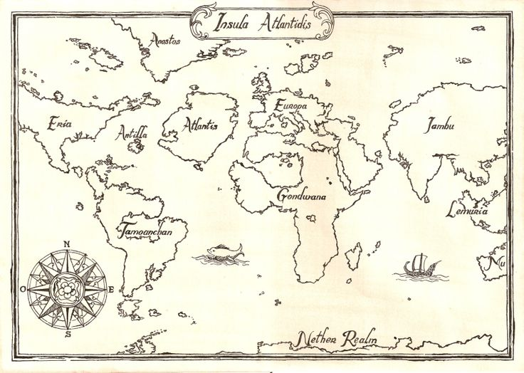 Atlántida Mapa
