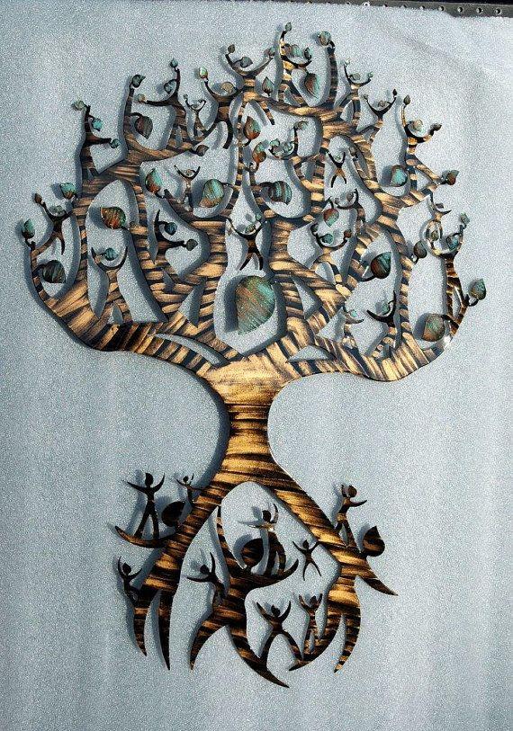 Family Tree / Tree Of Life Wall Decor By HumdingerDesignsEtsy, $220.00 Part 94