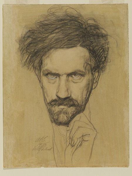 Austin Osman Spare, Self Portrait, 1935.