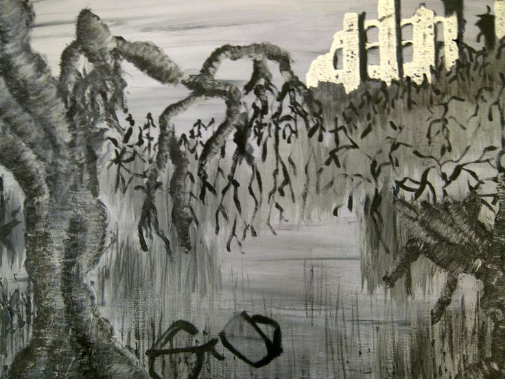 Titan Landscape (cover image for novel)