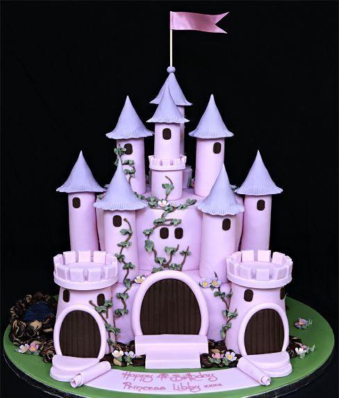 361 best castle cakes images on pinterest | castle cakes, cakes
