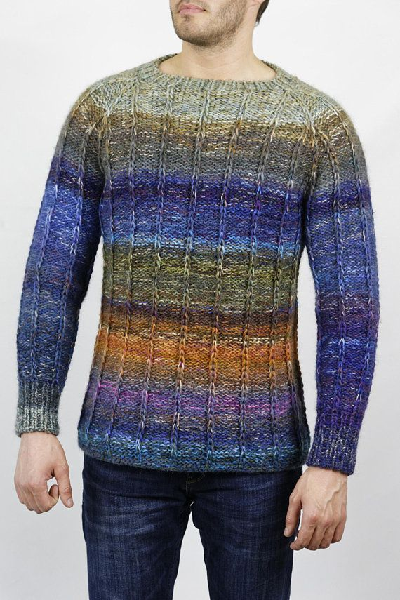 Hand Knitted Design Sweater Prjon Pinterest Knitting Knitting