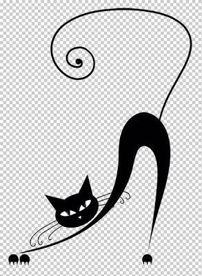 Plantillas de gatos para decoración ~ Solountip.com