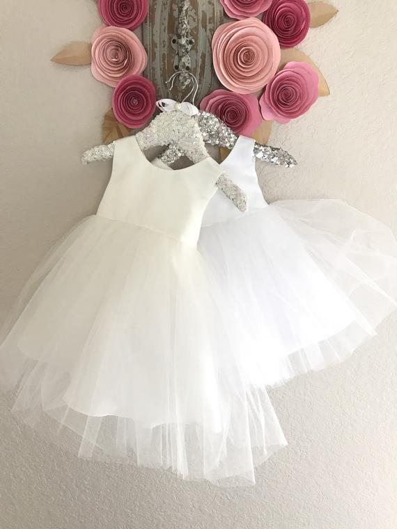 985fe609478ad Baptism Baby Girl Dress Christening baby Dress white Baby Girl dress ...