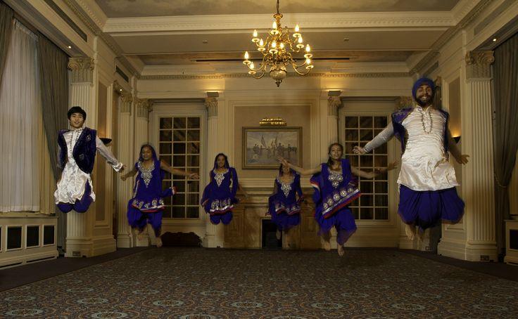 The Squadron's Bhangra Dance Troupe