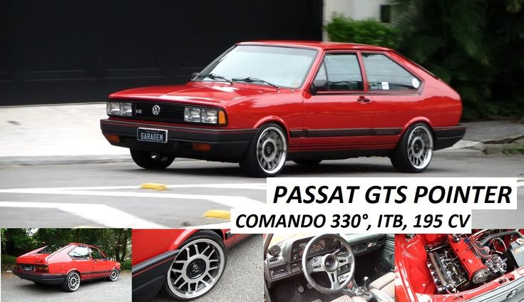 Garagem do Bellote TV: Passat GTS Pointer (ITB, comando 330° e 195 cv)