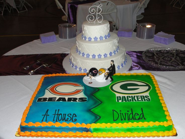 Quot A House Divided Quot Nfl Grooms Cake For My Daughter S