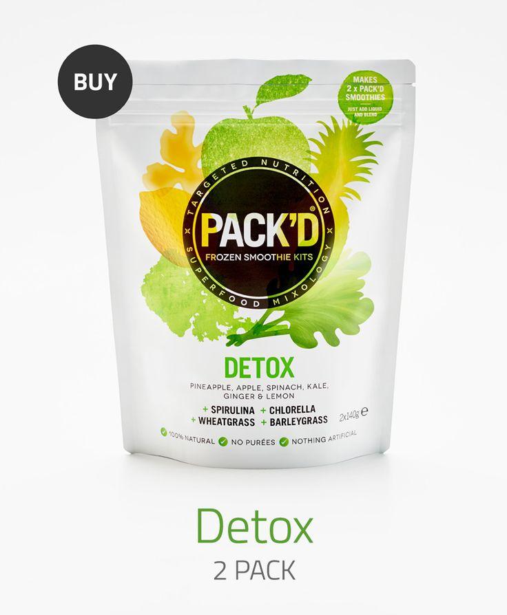 Detox Frozen Smoothie Kit