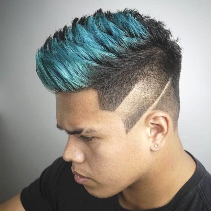 47 Men S Hair Dye Colors That Can Brighten Your Day Burgundycolors Di 2020 Gaya Rambut Pria Dennis Rodman Beautiful